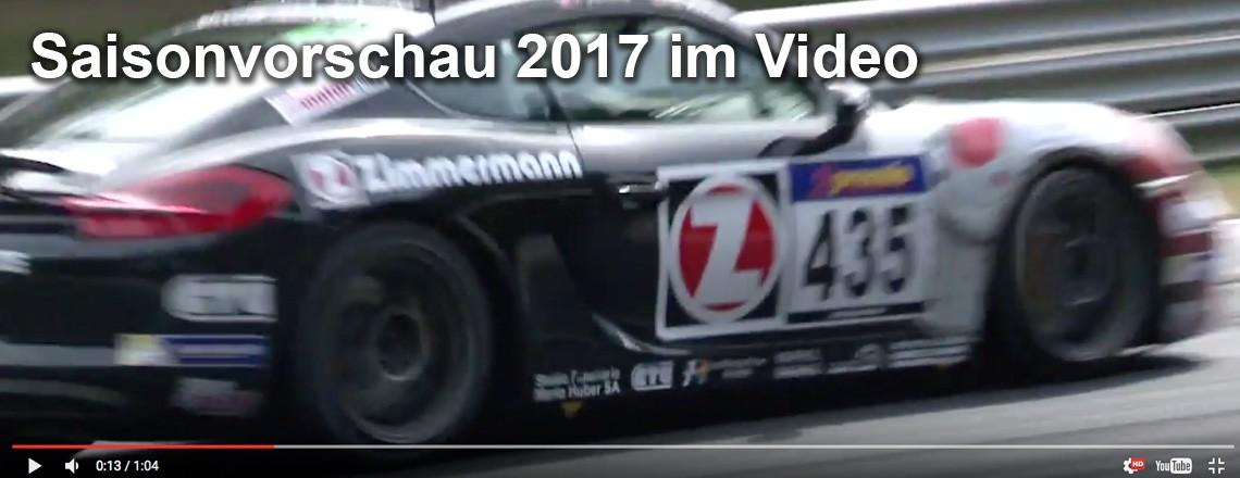 Die Saisonvorschau 2017 im Video