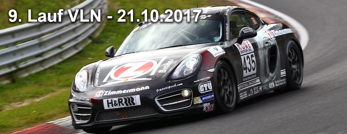 Schwieriges Finale für Porsche Cayman S